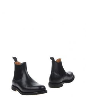 Полусапоги и высокие ботинки REGAIN. Цвет: стальной серый