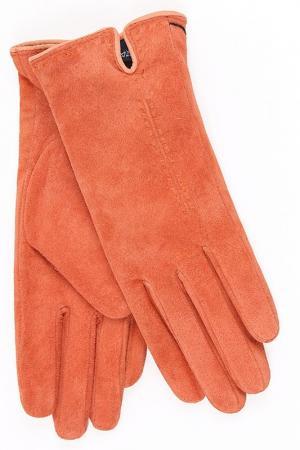 Перчатки Dali Exclusive. Цвет: персиковый, оранжевый