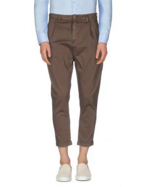 Повседневные брюки CHOICE NICOLA PELINGA. Цвет: коричневый