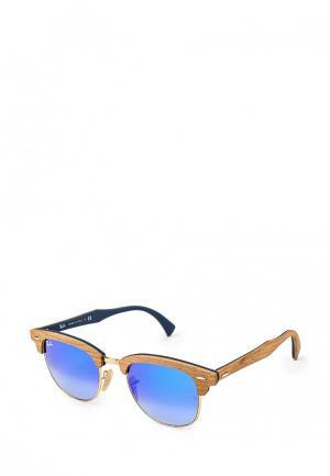 Очки солнцезащитные Ray-Ban®. Цвет: голубой