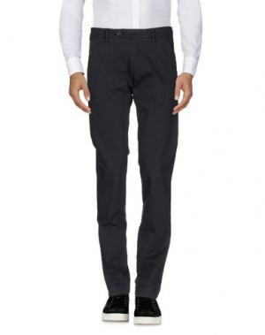Повседневные брюки ROŸ ROGER'S. Цвет: стальной серый