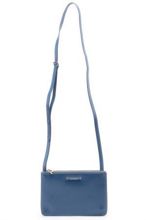 Сумка-кошелек Samsonite. Цвет: голубой