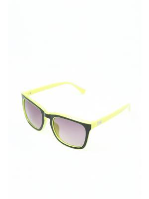Очки солнцезащитные Mitya Veselkov. Цвет: черный, желтый