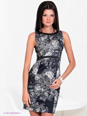 Платье Charuel. Цвет: черный, белый