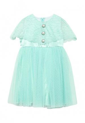 Платье Fleur de Vie. Цвет: мятный