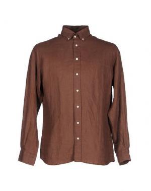 Pубашка BLUEMINT. Цвет: коричневый