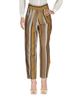 Повседневные брюки LES PRAIRIES DE PARIS. Цвет: серый