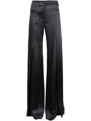 Расклешенные брюки Ann Demeulemeester. Цвет: серый