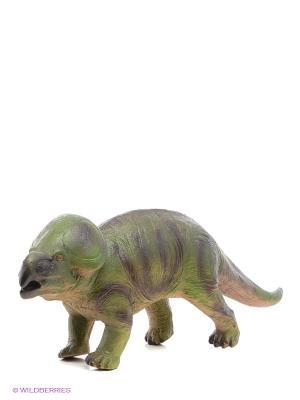Игрушка Протоцератопс HGL. Цвет: зеленый, коричневый, бежевый