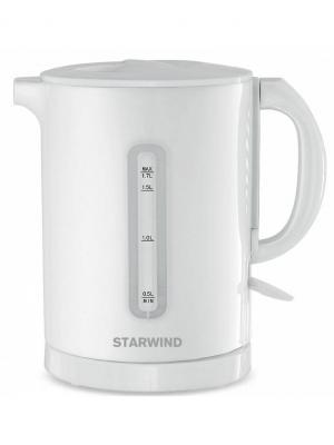 Чайник электрический STARWIND SKP1431, 2200Вт, белый. Цвет: белый