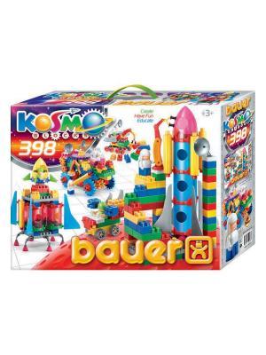 Конструктор Bauer серия Космос 398 эл. (в коробке) 8/8. Цвет: желтый