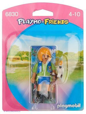 Друзья: Дрессировщик с Какаду Playmobil. Цвет: желтый, синий, зеленый