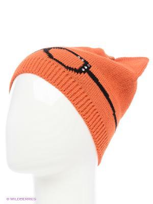 Шапка MARIELA. Цвет: оранжевый