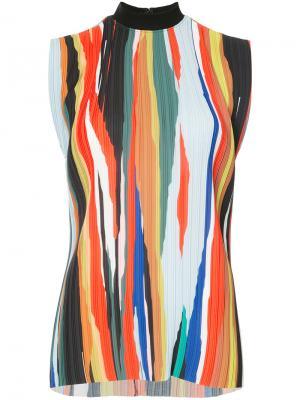 Блузка Baylie Solace. Цвет: жёлтый и оранжевый