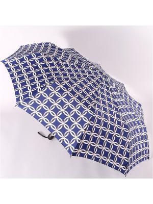 Зонт Zest. Цвет: синий, серебристый