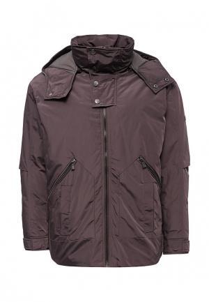 Куртка утепленная Trussardi Collection. Цвет: серый
