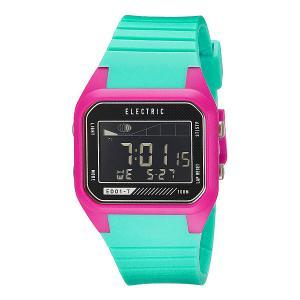 Часы  Ed01 Tide Pu Seafoam Pink Electric. Цвет: розовый,голубой