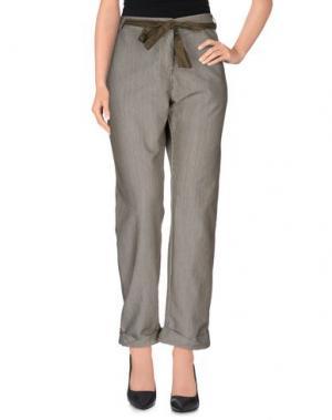Повседневные брюки AGATHA CRI. Цвет: зеленый-милитари