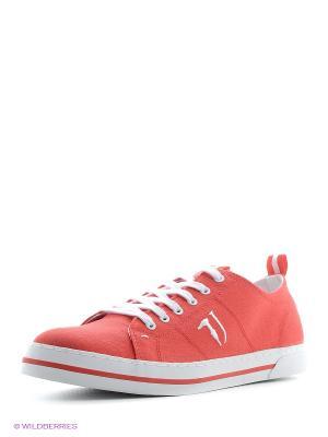 Кроссовки Trussardi. Цвет: красный