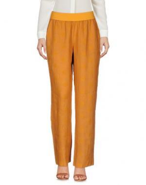 Повседневные брюки LA FABBRICA del LINO. Цвет: верблюжий