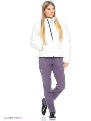 Куртка W Alp V J Adidas. Цвет: белый