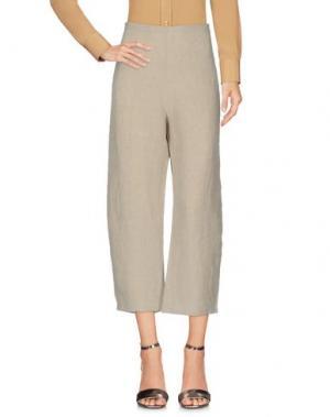 Повседневные брюки A.B APUNTOB. Цвет: слоновая кость