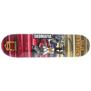 Дека для скейтборда  Sk8rats Gray 32.12 x 8.25 (21 см) Sk8mafia. Цвет: мультиколор