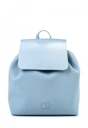 Рюкзак Jacky&Celine. Цвет: голубой