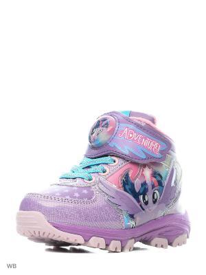 Ботинки Kakadu. Цвет: сиреневый