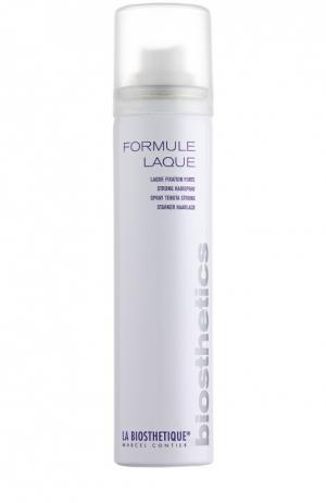 Лак для волос экстрасильной фиксации Formule Laque La Biosthetique. Цвет: бесцветный