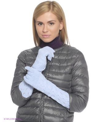 Перчатки FOMAS. Цвет: светло-голубой