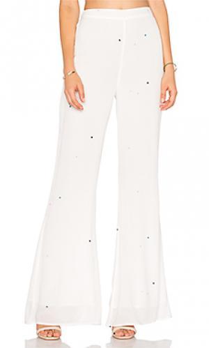 Брюки starlet Wildfox Couture. Цвет: белый