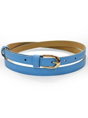 Ремень BB1. Цвет: голубой