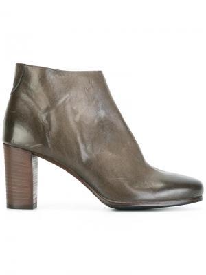 Ботинки на молнии Laboratorigarbo. Цвет: серый