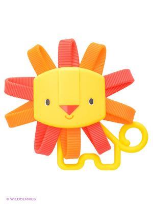 Развивающая игрушка Львенок Oball. Цвет: оранжевый