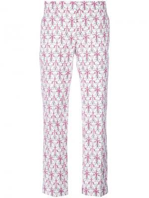 Укороченные брюки Alabastro Prada. Цвет: none