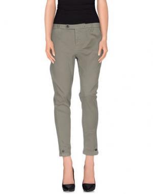 Повседневные брюки ROMANO RIDOLFI. Цвет: зеленый-милитари