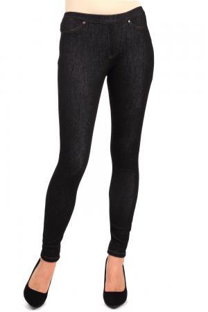 Модные джинсы Just Valeri. Цвет: чёрный