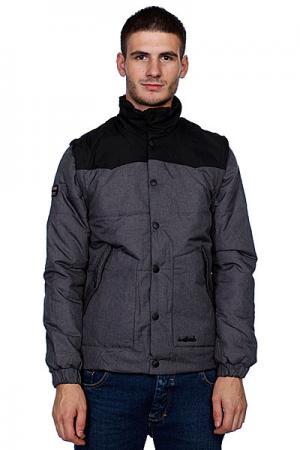 Куртка зимняя  Homestead Black/Grey Trailhead. Цвет: серый,черный