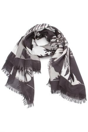 Платок Just Cavalli. Цвет: 220, черный, серый