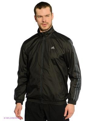Ветровка ESS 3S F TT Adidas. Цвет: черный
