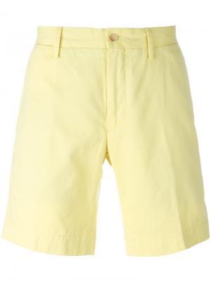 Классические шорты-чинос Polo Ralph Lauren. Цвет: жёлтый и оранжевый