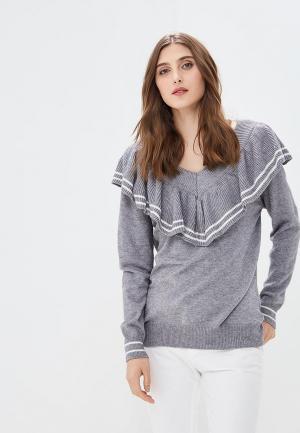 Пуловер Care of You. Цвет: серый