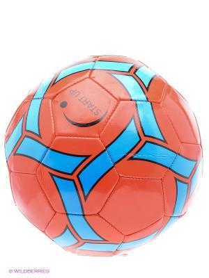 Мяч футбольный для отдыха Start Up. Цвет: красный, синий