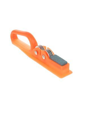 Точилка для ножей Migura. Цвет: оранжевый, серебристый
