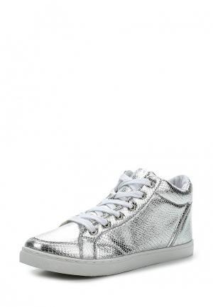 Кеды Max Shoes. Цвет: серебряный
