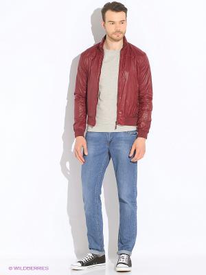 Куртка Censured. Цвет: бордовый