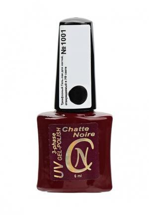 Гель-лак для ногтей Chatte Noire. Цвет: черный