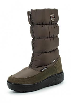 Дутики King Boots. Цвет: хаки