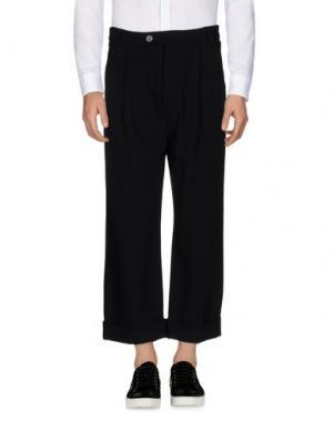 Повседневные брюки NOSTRASANTISSIMA. Цвет: черный